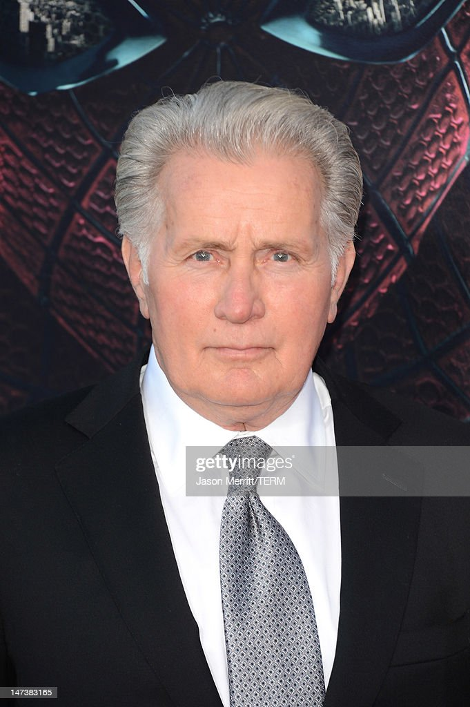 Actor <a gi-track='captionPersonalityLinkClicked' href=/galleries/search?phrase=Martin+Sheen&family=editorial&specificpeople=203224 ng-click='$event.stopPropagation()'>Martin Sheen</a> arrives at the premiere of Columbia Pictures' 'The Amazing Spider-Man' at the Regency Village Theatre on June 28, 2012 in Westwood, California.