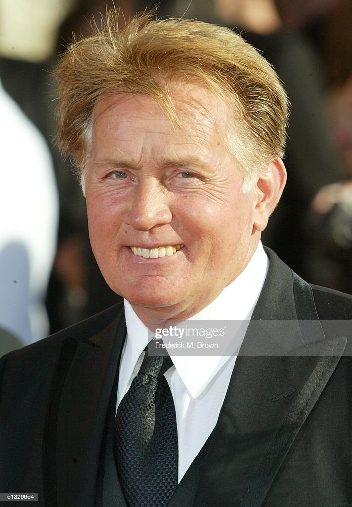 Actor Martin Sheen attends the 56th Annual Primetime Emmy Awards at the Shrine Auditorium September 19, 2004 in Los Angeles, California.