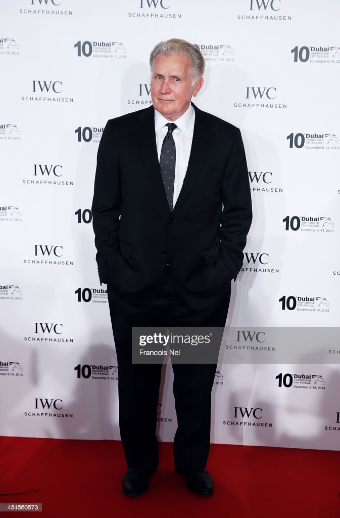 Actor <a gi-track='captionPersonalityLinkClicked' href=/galleries/search?phrase=Martin+Sheen&family=editorial&specificpeople=203224 ng-click='$event.stopPropagation()'>Martin Sheen</a> attends the IWC Schaffhausen For The Love Of Cinema IWC Filmmakers Award 2013 at One And Only Royal Mirage on December 7, 2013 in Dubai, United Arab Emirates.