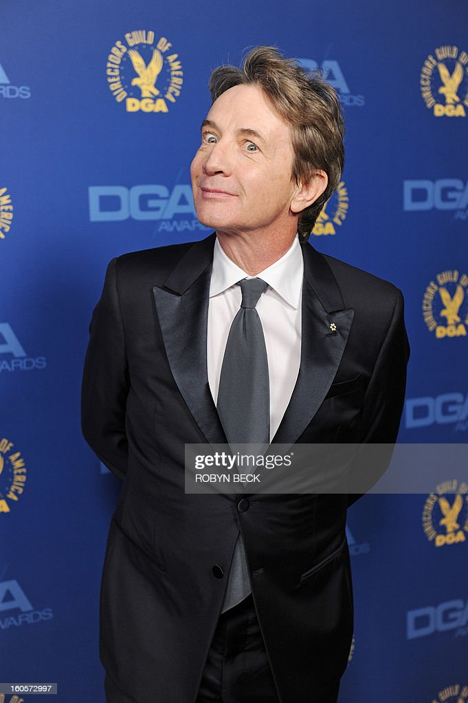 Actor Martin Short arrives at the 65th annual Directors Guild Of America Awards held February 2, 2013 at the Grand Ballroom at Hollywood & Highland in Hollywood, California. AFP PHOTO / Robyn Beck