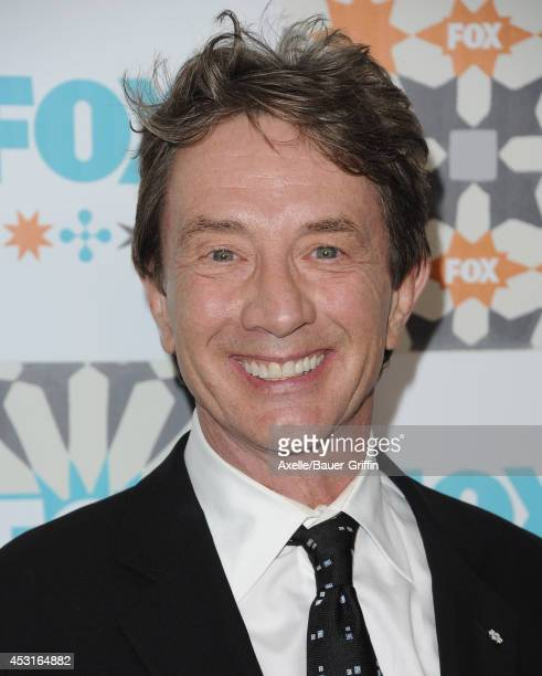 Actor Martin Short arrives at the FOX AllStar Party 2014 Television Critics Association Summer Press Tour at Soho House on July 20 2014 in West...