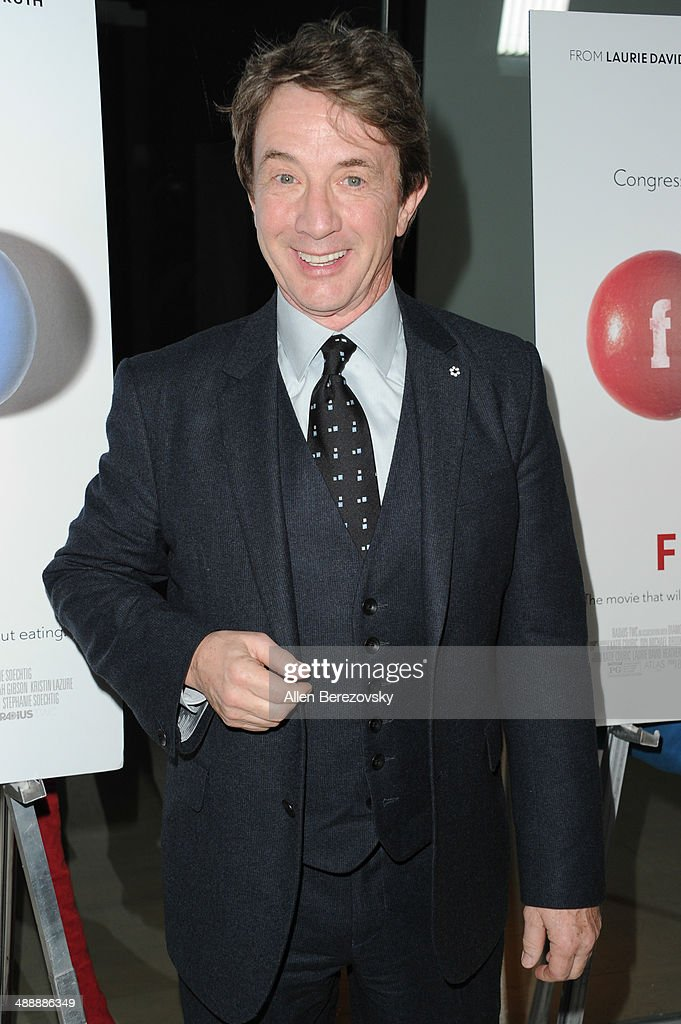Actor <a gi-track='captionPersonalityLinkClicked' href=/galleries/search?phrase=Martin+Short&family=editorial&specificpeople=211569 ng-click='$event.stopPropagation()'>Martin Short</a> arrives at the Los Angeles premiere of 'Fed Up' at Pacfic Design Center on May 8, 2014 in West Hollywood, California.