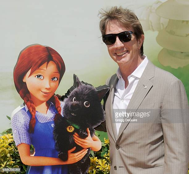 Actor Martin Short arrives at the Los Angeles premiere of 'Legends Of OZ Dorothy's Return' at Regency Village Theatre on May 3 2014 in Westwood...
