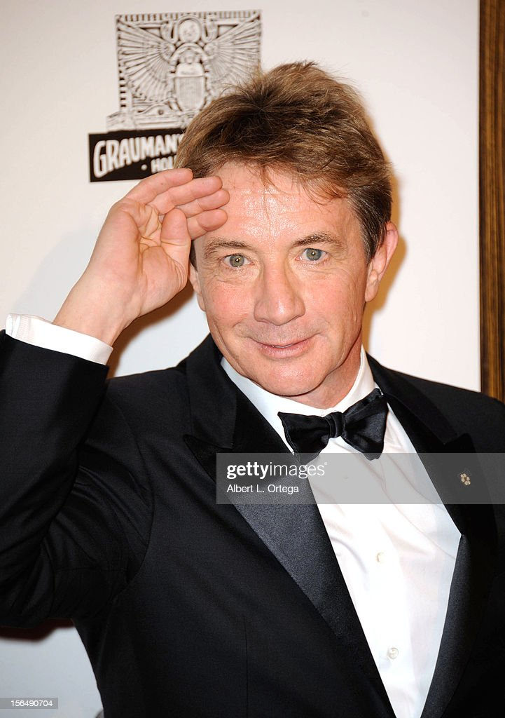 Actor <a gi-track='captionPersonalityLinkClicked' href=/galleries/search?phrase=Martin+Short&family=editorial&specificpeople=211569 ng-click='$event.stopPropagation()'>Martin Short</a> arrives for the 26th American Cinematheque Award Honoring Ben Stiller - Arrivals held at The Beverly Hilton Hotel on November 15, 2012 in Beverly Hills, California.