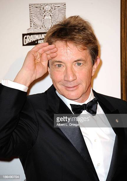 Actor Martin Short arrives for the 26th American Cinematheque Award Honoring Ben Stiller Arrivals held at The Beverly Hilton Hotel on November 15...