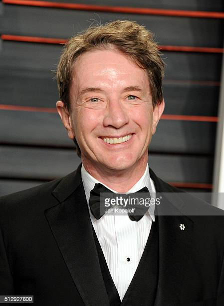 Actor Martin Short attends attends the 2016 Vanity Fair Oscar Party hosted By Graydon Carter at Wallis Annenberg Center for the Performing Arts on...