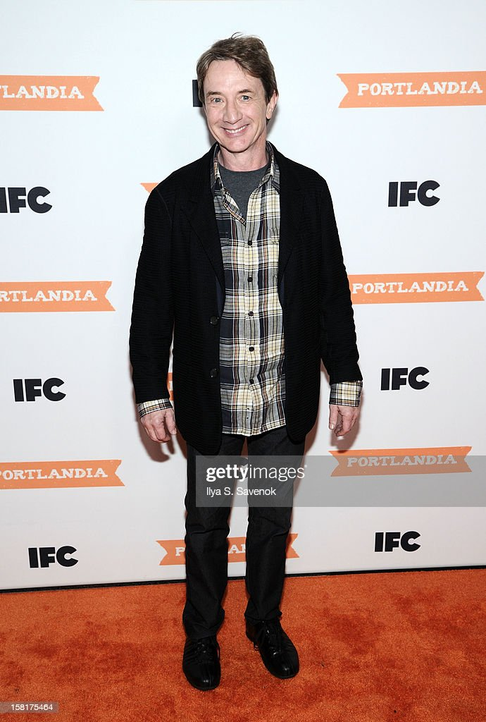 Actor <a gi-track='captionPersonalityLinkClicked' href=/galleries/search?phrase=Martin+Short&family=editorial&specificpeople=211569 ng-click='$event.stopPropagation()'>Martin Short</a> attends IFC's 'Portlandia' Season 3 New York Premiere at American Museum of Natural History on December 10, 2012 in New York City.