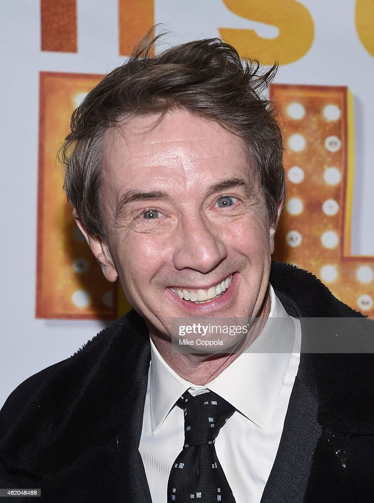 Actor Martin Short attends 'It's Only A Play' Broadway Re-Opening Night at The Bernard B. Jacobs Theatre on January 23, 2015 in New York City.