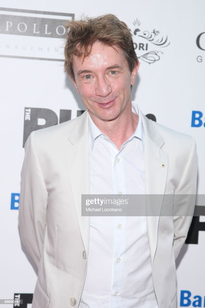 Actor Martin Short attends the 2009 Shakespeare in the Park opening night gala performance of 'Twelfth Night' at the Delacorte Theater on June 25, 2009 in New York City.