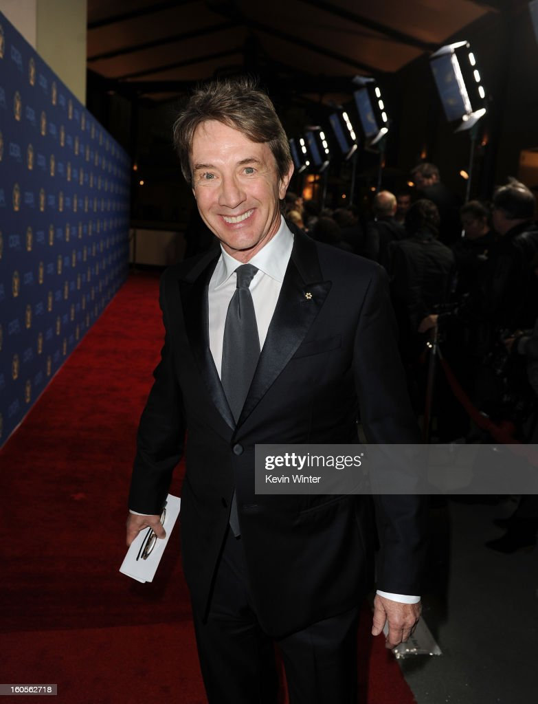 Actor Martin Short attends the 65th Annual Directors Guild Of America Awards at Ray Dolby Ballroom at Hollywood & Highland on February 2, 2013 in Los Angeles, California.