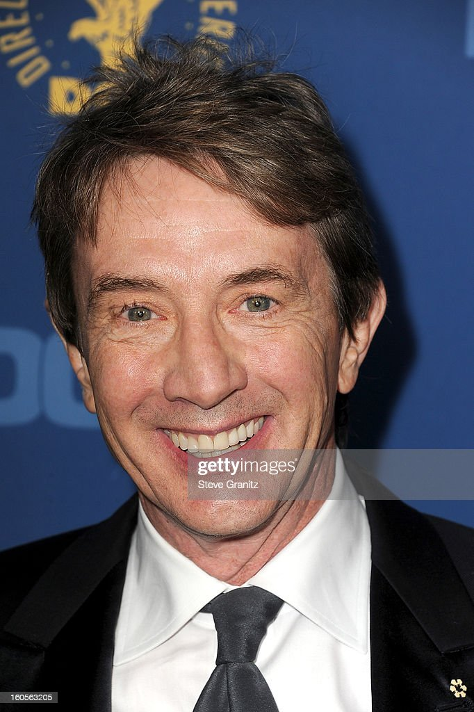 Actor Martin Short attends the 65th Annual Directors Guild Of America Awards at The Ray Dolby Ballroom at Hollywood & Highland Center on February 2, 2013 in Hollywood, California.