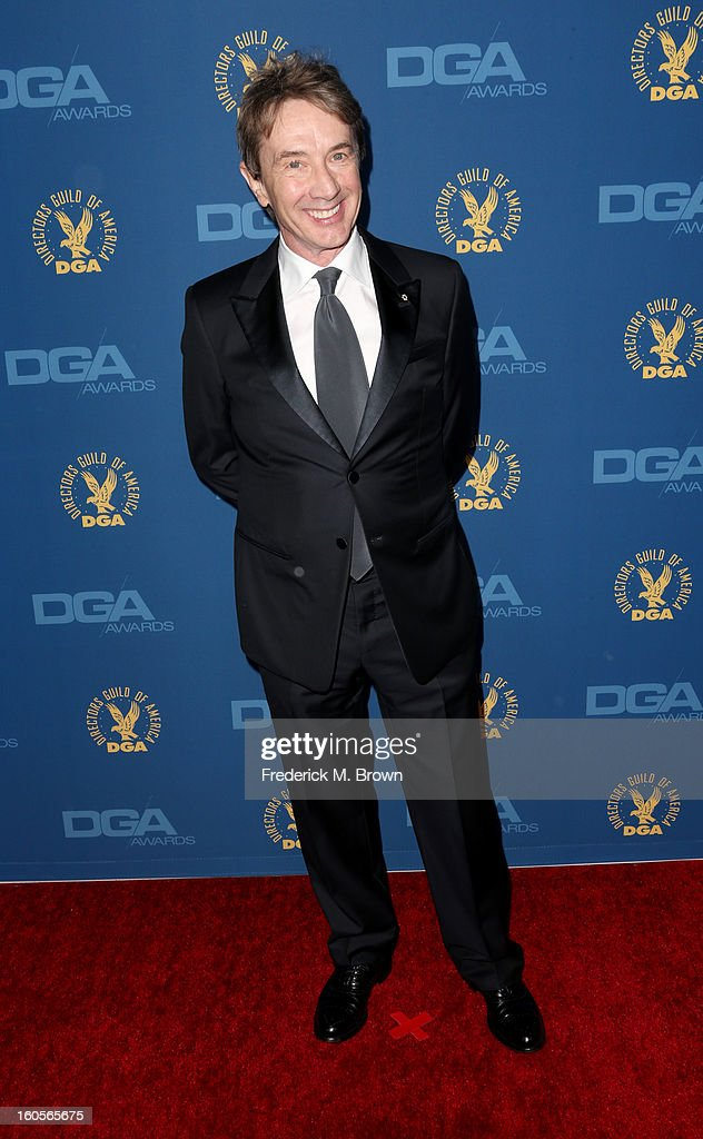Actor <a gi-track='captionPersonalityLinkClicked' href=/galleries/search?phrase=Martin+Short&family=editorial&specificpeople=211569 ng-click='$event.stopPropagation()'>Martin Short</a> attends the 65th Annual Directors Guild Of America Awards at Ray Dolby Ballroom at Hollywood & Highland on February 2, 2013 in Los Angeles, California.