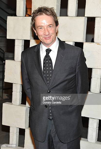 Actor Martin Short attends the Hammer Museum Gala in Garden sponsored by Bottega Veneta at Hammer Museum on October 10 2015 in Westwood California