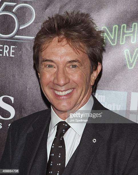 Actor Martin Short attends the 'Inherent Vice' Centerpiece Gala Presentation World Premiere during the 52nd New York Film Festival at Alice Tully...