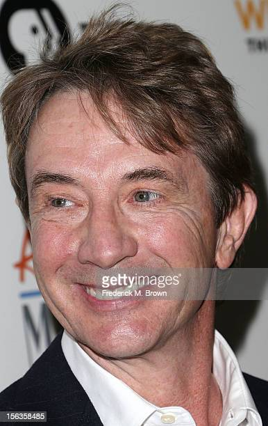 Actor Martin Short attends the Premiere Of 'American Masters Inventing David Geffen' at The Writers Guild of America on November 13 2012 in Beverly...