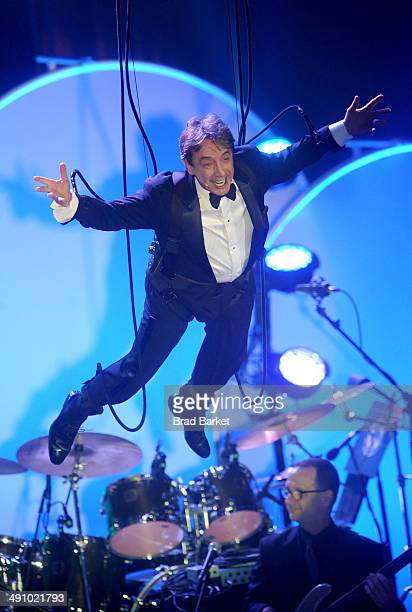 Actor Martin Short performs at the 2014 Toys 'R' Us Children's Fund Gala at the New York Marriott Marquis on May 15 2014 in New York City