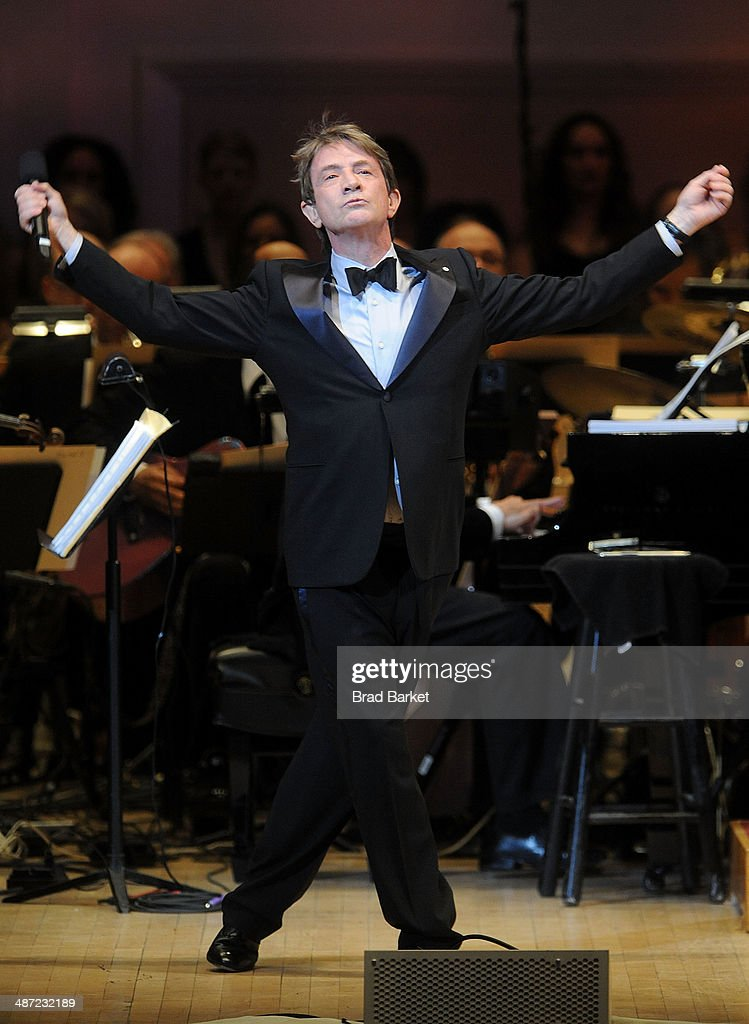 Actor <a gi-track='captionPersonalityLinkClicked' href=/galleries/search?phrase=Martin+Short&family=editorial&specificpeople=211569 ng-click='$event.stopPropagation()'>Martin Short</a> performs during The New York Pops 31st Birthday Gala at Carnegie Hall on April 28, 2014 in New York City.