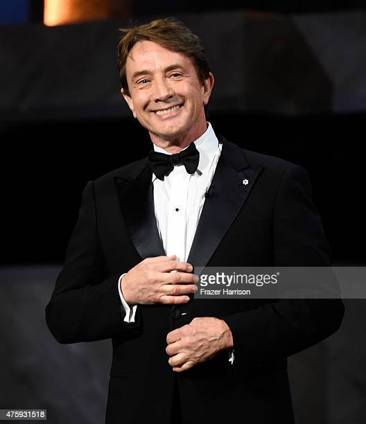 Actor Martin Short speaks onstage during the 43rd AFI Life Achievement Award Gala honoring Steve Martin at Dolby Theatre on June 4 2015 in Hollywood...