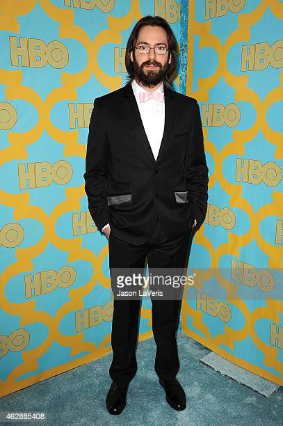 Actor Martin Starr attends HBO's post Golden Globe Awards party at The Beverly Hilton Hotel on January 11 2015 in Beverly Hills California