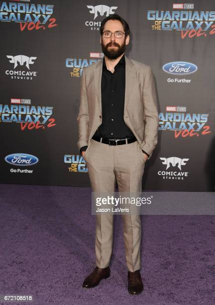 Actor Martin Starr attends the premiere of 'Guardians of the Galaxy Vol 2' at Dolby Theatre on April 19 2017 in Hollywood California