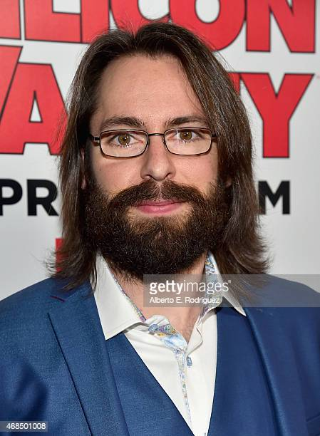 Actor Martin Starr attends the premiere of HBO's 'Silicon Valley' 2nd Season at the El Capitan Theatre on April 2 2015 in Hollywood California