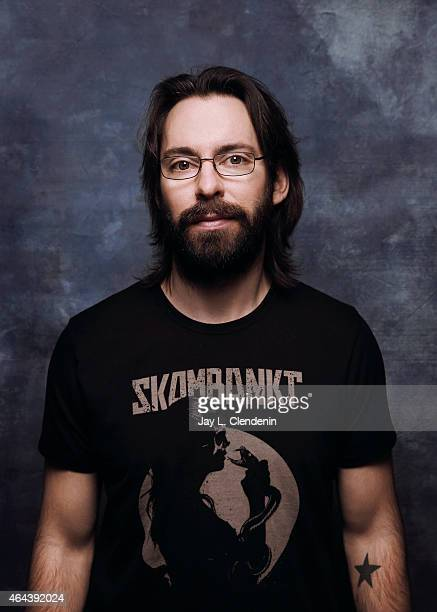 Actor Martin Starr is photographed for Los Angeles Times at the 2015 Sundance Film Festival on January 24 2015 in Park City Utah PUBLISHED IMAGE...