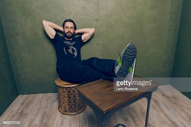 Actor Martin Starr of 'I'll See You in My Dreams' poses for a portrait at the Village at the Lift Presented by McDonald's McCafe during the 2015...