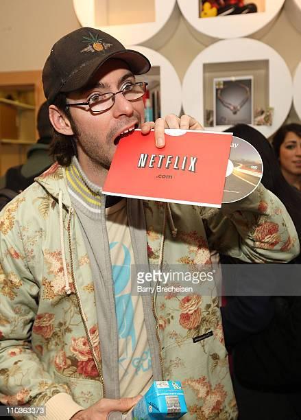 Actor Martin Starr visits the Kari Feinstein Sundance Style Lounge on January 18 2009 in Park City Utah