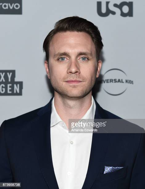 Actor Martin Wallstrom arrives at NBCUniversal's Press Junket at Beauty Essex on November 13 2017 in Los Angeles California