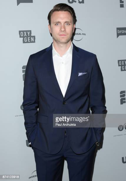 Actor Martin Wallstrom attends NBCUniversal's press junket at Beauty Essex on November 13 2017 in Los Angeles California