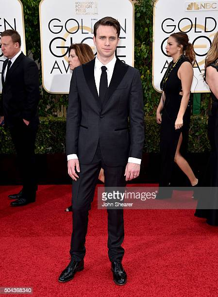 Actor Martin Wallstrom attends the 73rd Annual Golden Globe Awards held at the Beverly Hilton Hotel on January 10 2016 in Beverly Hills California