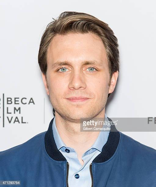 Actor Martin Wallstrom attends Tribeca Talks 'Mr Robot' during the 2015 Tribeca Film Festival at Chelsea Bow Tie Cinemas on April 26 2015 in New York...