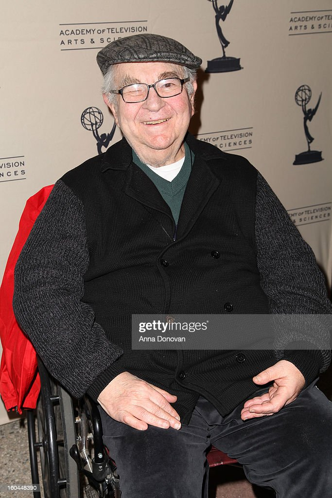 Actor Marvin Kaplan attends 'Retire From Showbiz:? No Thanks!' at the Academy of Television Arts & Sciences Conference Centre on January 31, 2013 in North Hollywood, California.