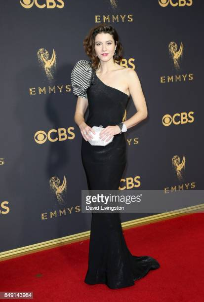 Actor Mary Elizabeth Winstead attends the 69th Annual Primetime Emmy Awards Arrivals at Microsoft Theater on September 17 2017 in Los Angeles...