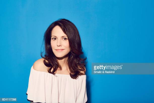 Actor MaryLouise Parker of Audience Network's 'MrMercedes' poses for a portrait during the 2017 Summer Television Critics Association Press Tour at...
