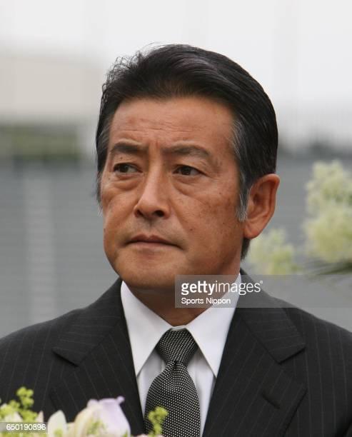 Actor Masaki Kanda attends 23rd death anniversary ceremony of actor Yujiro Ishihara on May 21 2009 in Tokyo Japan