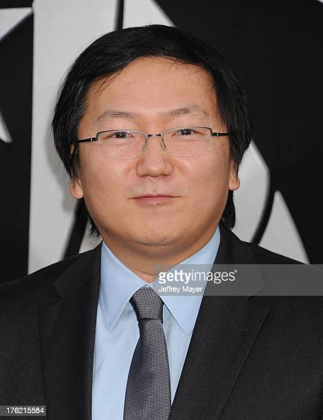 Actor Masi Oka arrives at the 'Pacific Rim' Los Angeles Premiere at Dolby Theatre on July 9 2013 in Hollywood California
