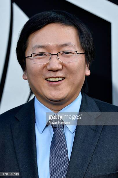 Actor Masi Oka arrives at the premiere of Warner Bros Pictures' and Legendary Pictures' 'Pacific Rim' at Dolby Theatre on July 9 2013 in Hollywood...