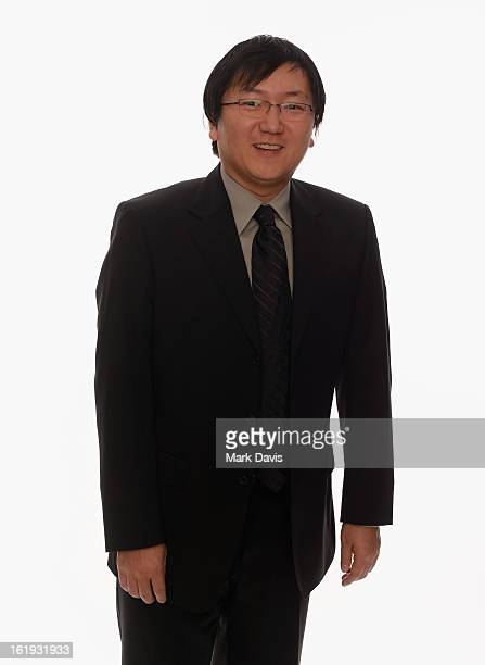 Actor Masi Oka poses for a portrait in the TV Guide Portrait Studio at the 3rd Annual Streamy Awards at Hollywood Palladium on February 17 2013 in...