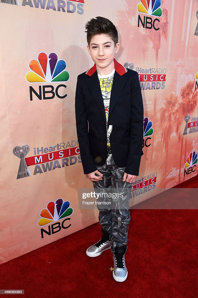 Actor Mason Cook attends the 2015 iHeartRadio Music Awards which broadcasted live on NBC from The Shrine Auditorium on March 29, 2015 in Los Angeles, California.