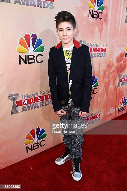 Actor Mason Cook attends the 2015 iHeartRadio Music Awards which broadcasted live on NBC from The Shrine Auditorium on March 29 2015 in Los Angeles...