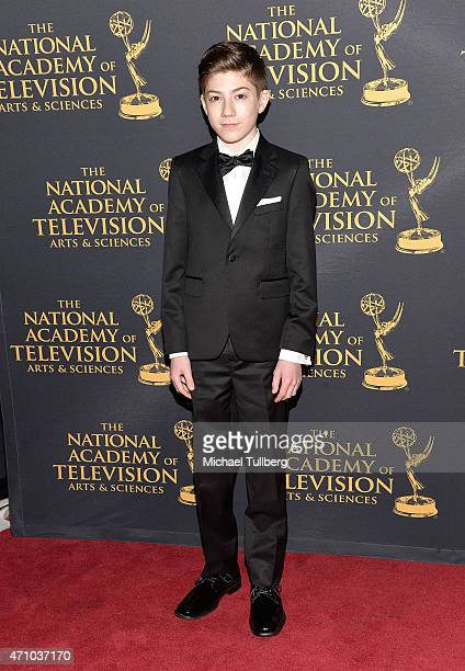 Actor Mason Cook attends the 42nd Annual Daytime Creative Arts Emmy Awards at Universal Hilton Hotel on April 24 2015 in Universal City California