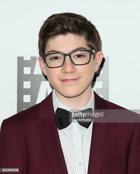 Actor Mason Cook attends the 67th annual ACE Eddie Awards at The Beverly Hilton Hotel on January 27 2017 in Beverly Hills California
