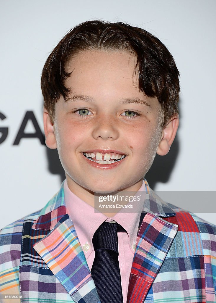 Actor Mason Vale Cotton arrives at AMC's 'Mad Men' Season 6 Premiere at the DGA Theater on March 20, 2013 in Los Angeles, California.