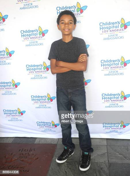 Actor Mateo Mingo attends the 2nd Annual #Action Jax Movie Morning Fundraiser screening of 'The Goonies' presented by Nerds Like Us and LRM Publicity...