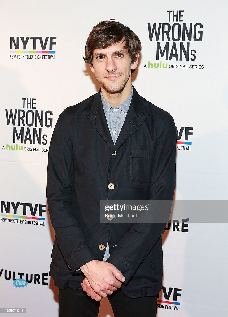 Actor Mathew Baynton attends Hulu 'The Wrong Mans' Series Premiere at Tribeca Cinemas on October 26 2013 in New York City