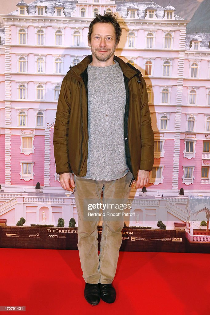 Actor <a gi-track='captionPersonalityLinkClicked' href=/galleries/search?phrase=Mathieu+Amalric&family=editorial&specificpeople=612979 ng-click='$event.stopPropagation()'>Mathieu Amalric</a> attends 'The Grand Budapest Hotel' Paris Premiere at Cinema Gaumont Opera Capucines on February 20, 2014 in Paris, France.