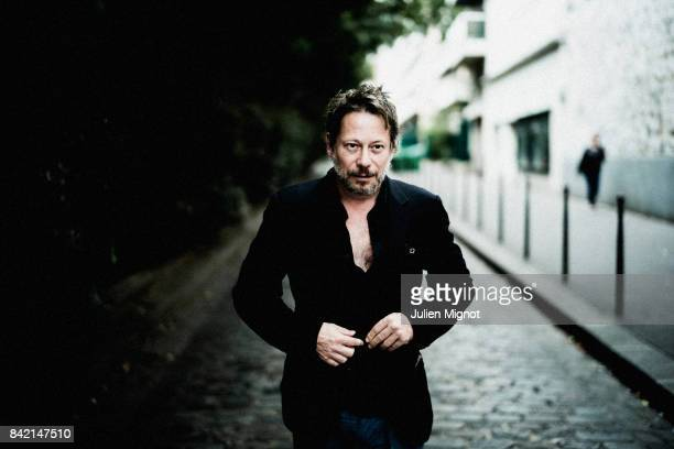 Actor Mathieu Amalric is photographed for L'Express on August 21 2017 in Paris France PUBLISHED IMAGE