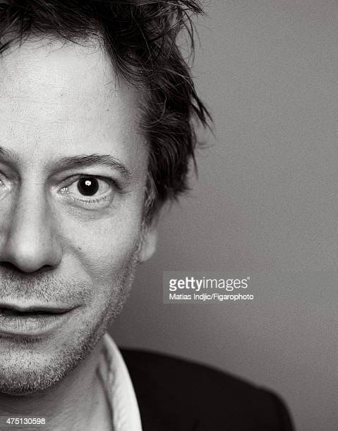 Actor Mathieu Amalric is photographed for Madame Figaro on January 18 2015 in Paris France Makeup by Givenchy Le Make Up CREDIT MUST READ Matias...