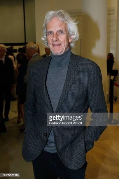 Actor Mathieu Carriere attends the 'Societe des Amis du Musee d'Art Moderne de la Ville de Paris' Dinner on October 17 2017 in Paris France
